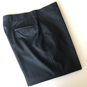 Pronto Uomo Pinstriped Dress Pants